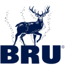 Illustration Bru - the naturally sparkling water from here