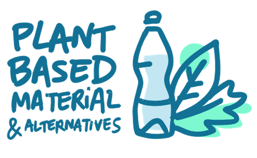 Illustration integrate renewable materials