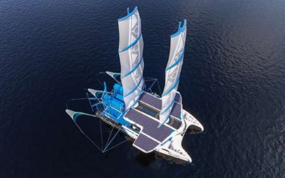 The SeaCleaners unveils 'The Manta'